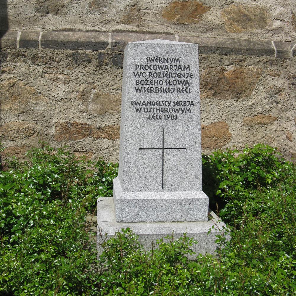 I sorb Denkmal
