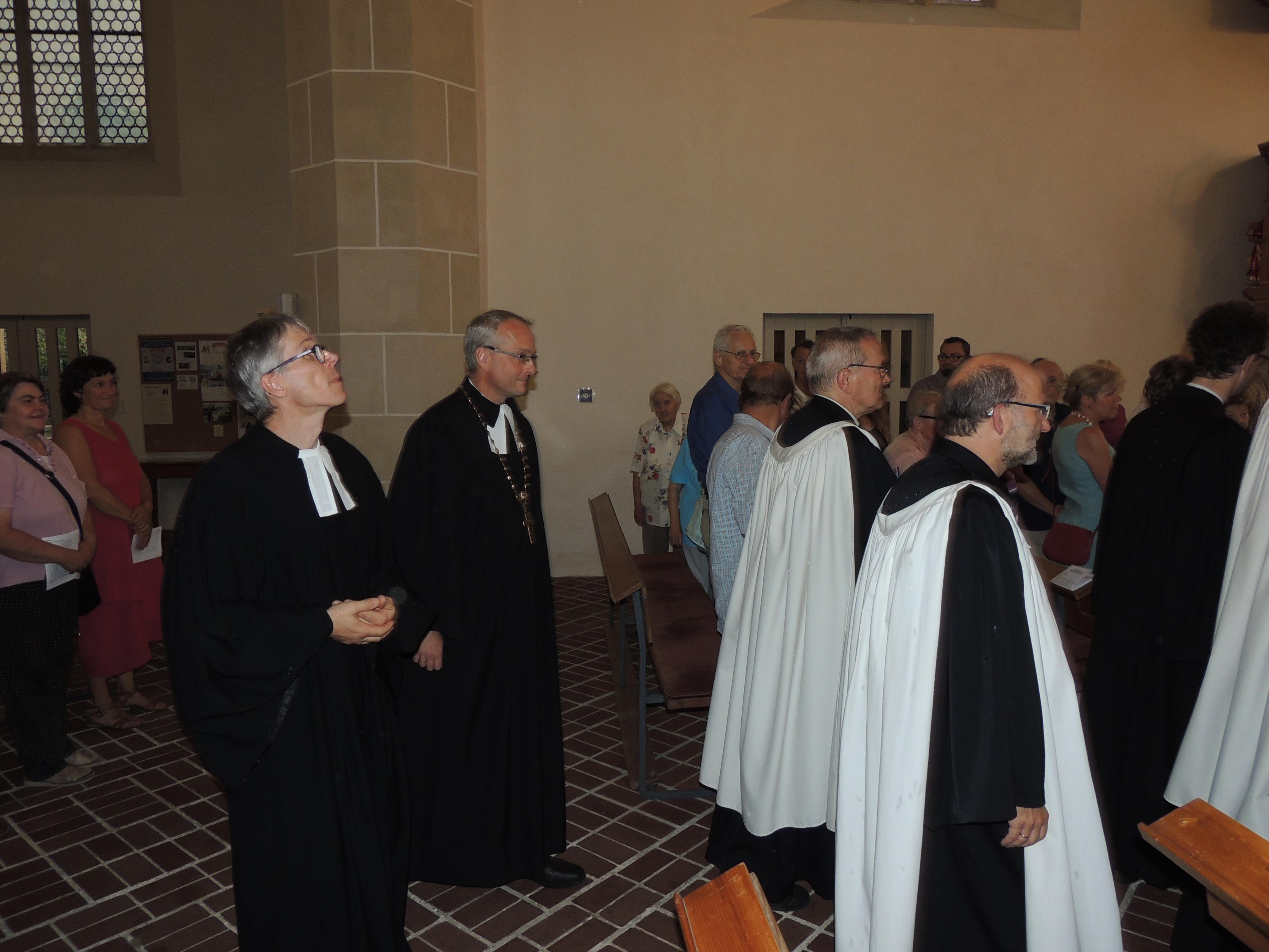 Festgottesdeinst Gemeindefest mit Landesbischof